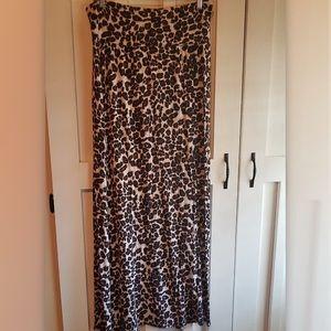 Wet Seal brand animal print maxi skirt size xl